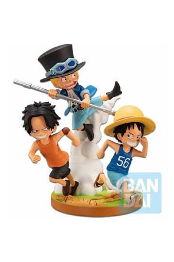 [RESERVA OCTUBRE 2020]ONE PIECE DIROAMA PVC ICHIBANSHO THE BONDS OF BROTHERS 12 CM