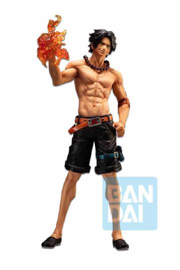 [RESERVAOCTUBRE 2020]ONE PIECE ESTATUA PVC ICHIBANSHO THE BONDS OF BROTHERS PORTGAS D. ACE 30 CM
