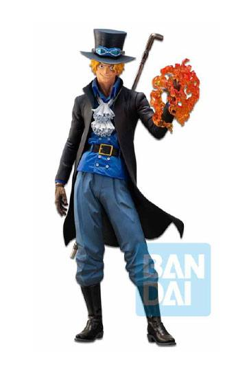 [RESERVAOCTUBRE 2020]ONE PIECE ESTATUA PVC ICHIBANSHO THE BONDS OF BROTHERS SABO 30 CM