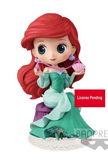 Disney Q Posket Perfumagic Mini Figure Ariel Ver  A 12 cm