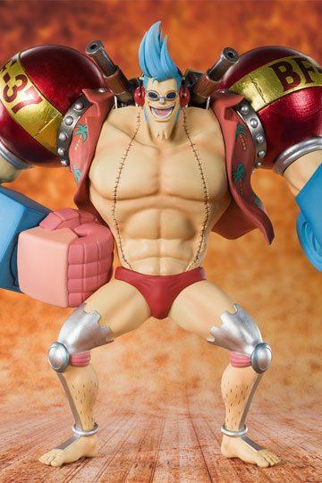 One Piece FiguartsZERO PVC Statue Cyborg Franky 20 cm