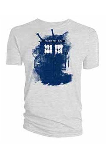 Doctor Who T-Shirt Modern Art TARDIS Size M