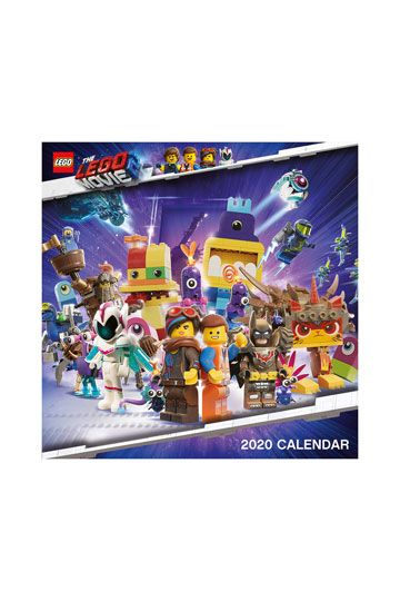 Lego November 2020 Calendar The LEGO Movie 2 Calendar 2020