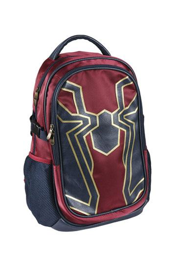 """Teen Titans 16/"""" Kids School Red Backpack Night Visibility Gold Star Collection"""