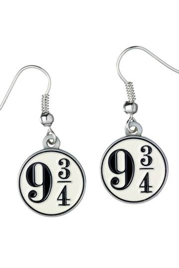 Harry Potter Platform 9 34 Earrings Silver Plated