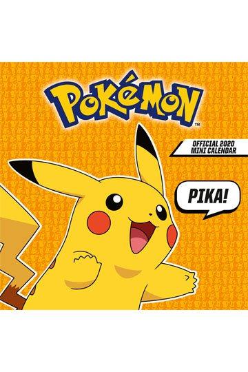 Calendrier De Lavent Pokemon 2020.Pokemon Calendrier Mini 2020 Anglais