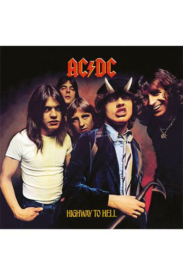 b4a0b529020 AC/DC Framed Canvas Print Highway To Hell 40 x 40 cm