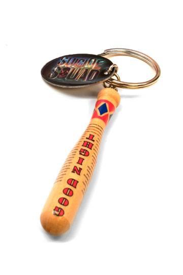 DC Comics Suicide Squad Harley Quinn/'s Good Night Baseball Bat Keychain