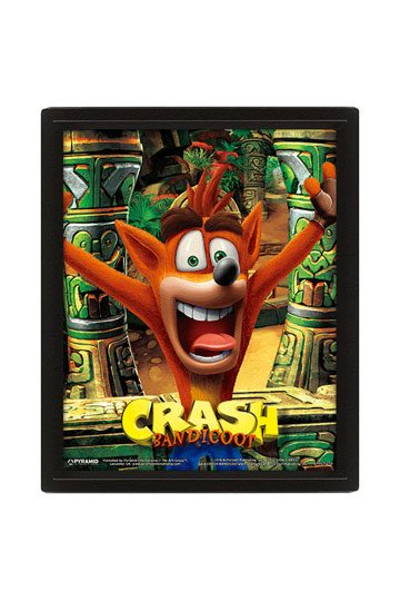 Crash Bandicoot 3D Icon Light single or complete pack