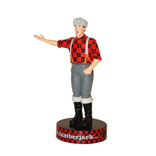 Monty Python Shakems Bobble-Figure with Sound Lumberjack 18 cm