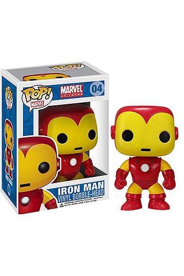10 Marvel Bobble Iron PopVinyl Cm Comics Man Head vm8OyNnw0