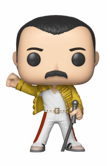 Queen POP! Rocks Vinyl Figura Freddie Mercury Wembley 1986 9 cm