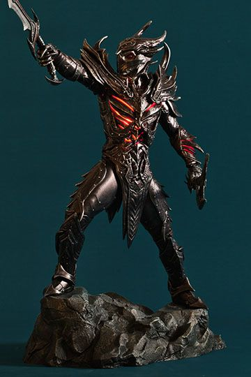 The Elder Scrolls Daedric Armor 1/6 Scale Statue by Gaming Heads