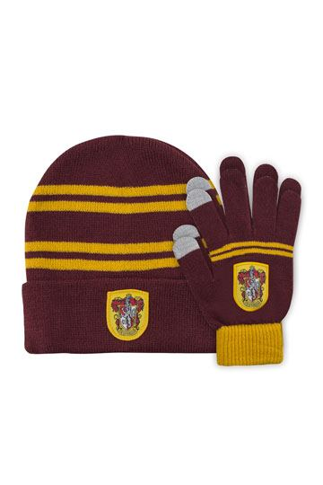 a886b774383 Harry Potter Beanie   Gloves Set for Kids Gryffindor