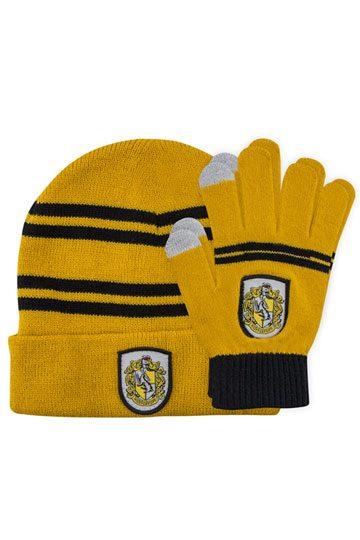 3798fa4bc19 Harry Potter Beanie   Gloves Set for Kids Hufflepuff