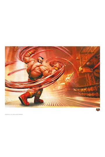 Street Fighter V Art Print Zangief 42 x 30 cm