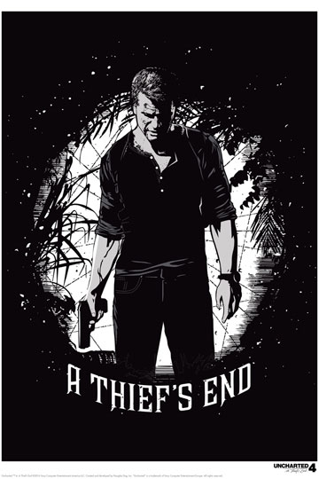 Uncharted 4 Art Print Thief's End 42 x 30 cm