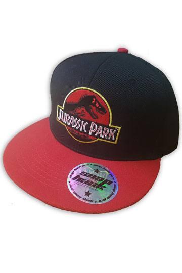 cb32141ba76 Jurassic Park Snap Back Cap Logo