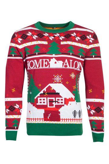 Kevin Allein zu Haus Pullover Christmas Poster