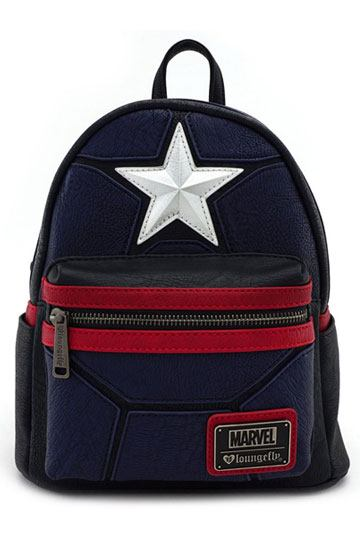 Marvel by Loungefly Backpack Captain America Cosplay 9d041abf61f01