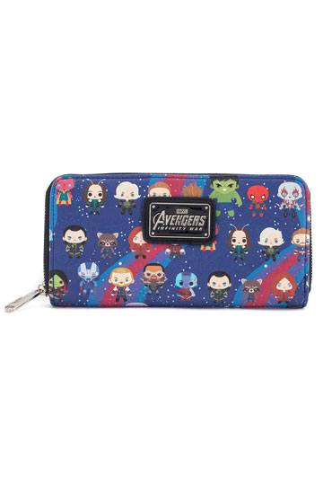 Marvel by Loungefly Wallet Avengers Infinity War Chibi