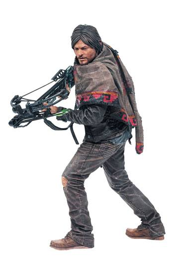 S6 25 cm McFarlane Toys The Walking Dead Deluxe Action Figure Daryl Dixon