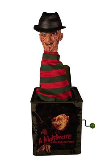 Pesadilla En Elm Street Caja De Música Caja Sorpresa Burst A Box Freddy Krueger 36 Cm