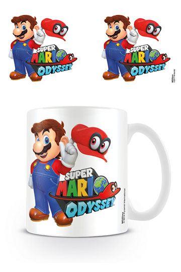 Super Mario Odyssey Mug Mario with Cappy