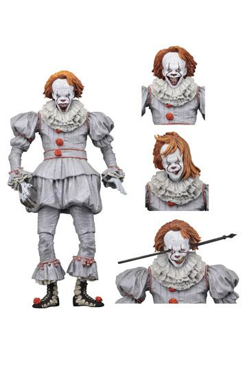 Action figure Ultimate Pennywise Stephen King/'s IT The Movie 1990 17 cm Neca