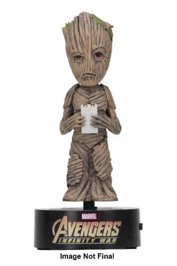 NECA Baby Groot Guardians of the Galaxy Avengers Marvel Body Knocker Figure