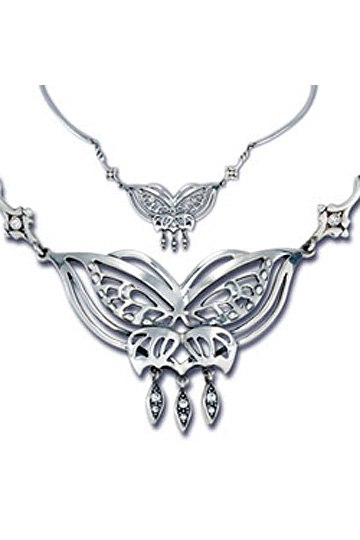 Lord of the Rings Necklace Arwen´s Butterfly (Sterling Silver)