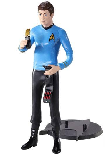 """Official Commander Spock  8/"""" 19cm Action Figure Star Trek Original Seri NEW GIFT"""
