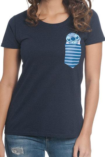 Shirt Liloamp; Pocket Stitch Femme T nwPXk80O