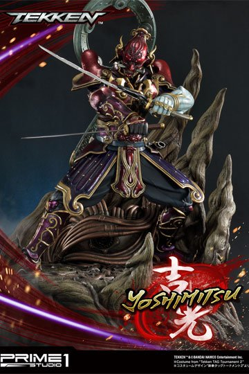 Tekken Statue 1 4 Yoshimitsu 70 Cm