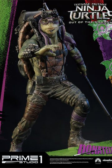 Teenage Mutant Ninja Turtles Out of the Shadows 1/4 Statue Donatello