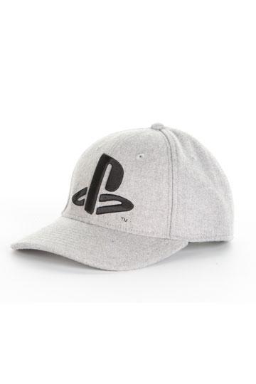 005fd07022a PlayStation Baseball Cap Black Logo