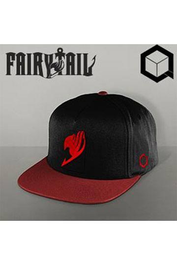 ea85d148a80 Fairy Tail Snap Back Cap Natsu