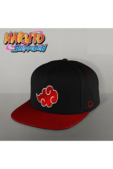 99189a8759be9 Naruto Snap Back Cap Akatsuki