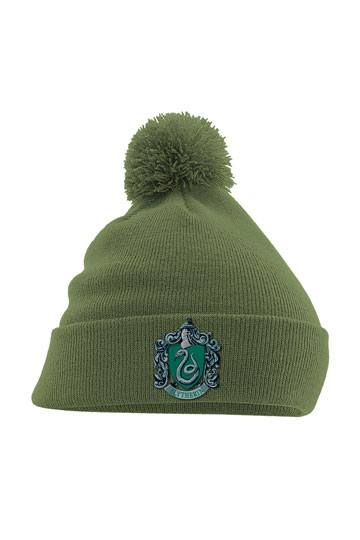 4f5495bb7b9 Harry Potter Pom Pom Beanie Slytherin Crest Green