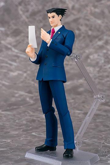 [BAJO PEDIDO]Phoenix Wright Ace Attorney Figura Figma Phoenix Wright 15 cm
