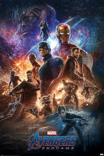 Avengers Endgame Poster Set From The Ashes 61 X 91 Cm 5