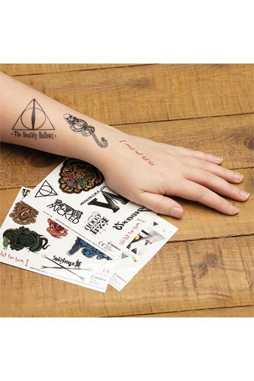 Harry Potter Temporary Tattoos Set