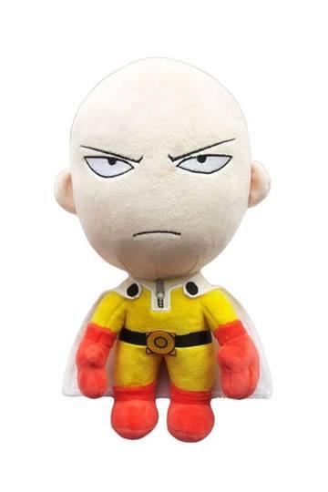 "One Punch Man ~ 8/"" SAITAMA PLUSH FIGURE ~ Official Great Eastern Plushie"