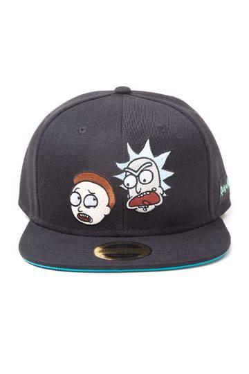 72a5db35714 Rick   Morty Snapback Cap Big Faces