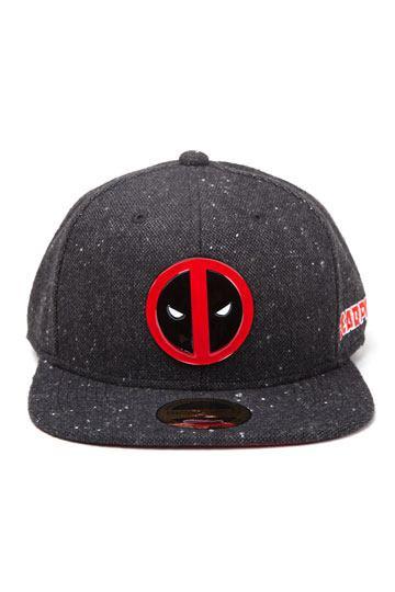 b512e851a85 Deadpool Snapback Cap Stripe