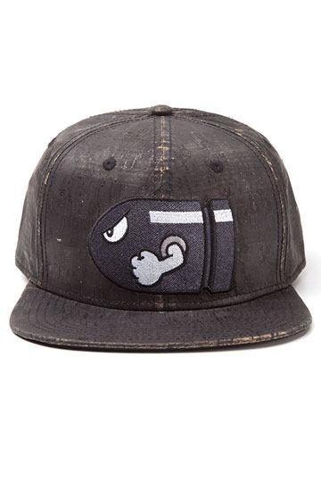 90197d0f2f5 Super Mario Baseball Cap Bullet Bill