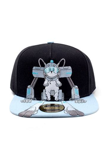 9e1a021385a Rick and Morty Embroidery Snapback Cap Snowball