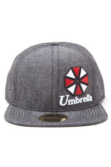 outlet store b5e97 057a0 Resident Evil Snap Back Cap Umbrella Logo