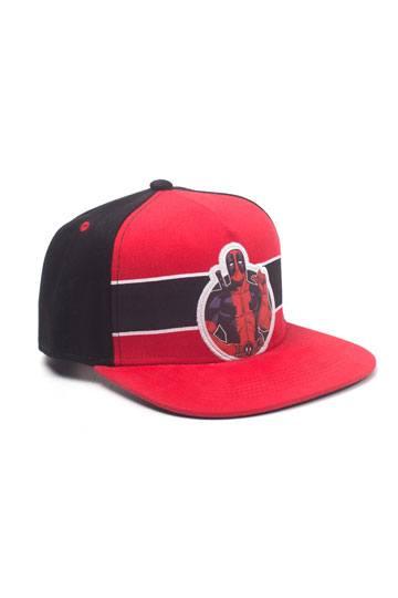 6307de036f8 Deadpool Snapback Cap Stripe