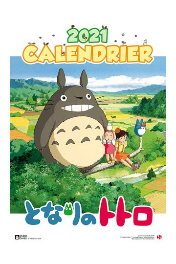 Calendrier Ball Trap 2021 My Neighbor Totoro Calendar 2021 *French Version*